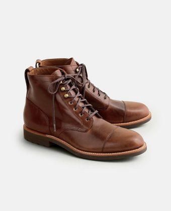 Cap-toe Boots